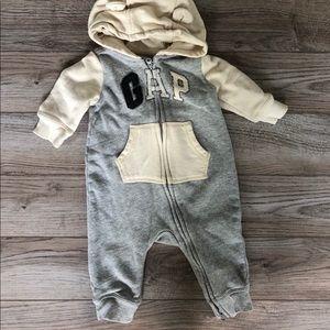 3-6M Baby Gap Sweatshirt Jumpsuit